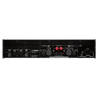 Yamaha PX8 Power Amplifier, Rear