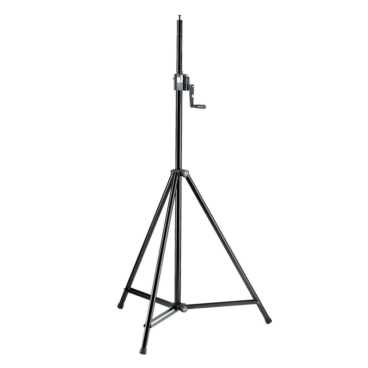 K M Lighting Chittagong: K&M 246/1 Lighting/Speaker Stand, Black At Gear4music