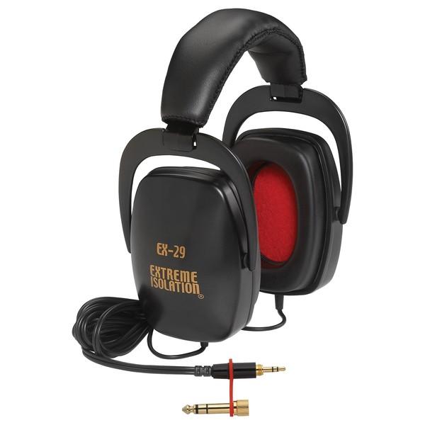 Direct Sound EX29 Isolation Headphones - Angled