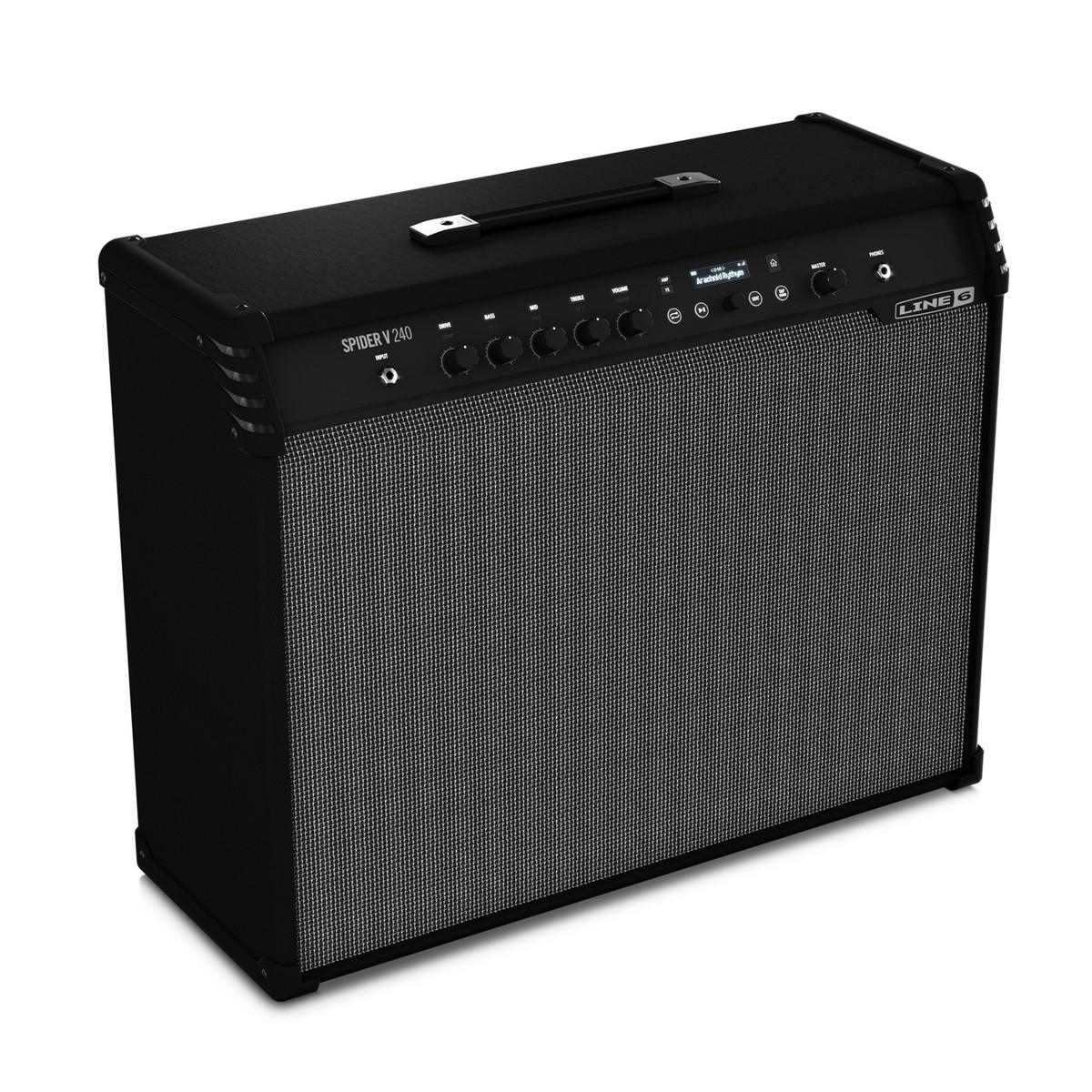 line 6 spider v 240 guitar combo amp box opened at gear4music. Black Bedroom Furniture Sets. Home Design Ideas