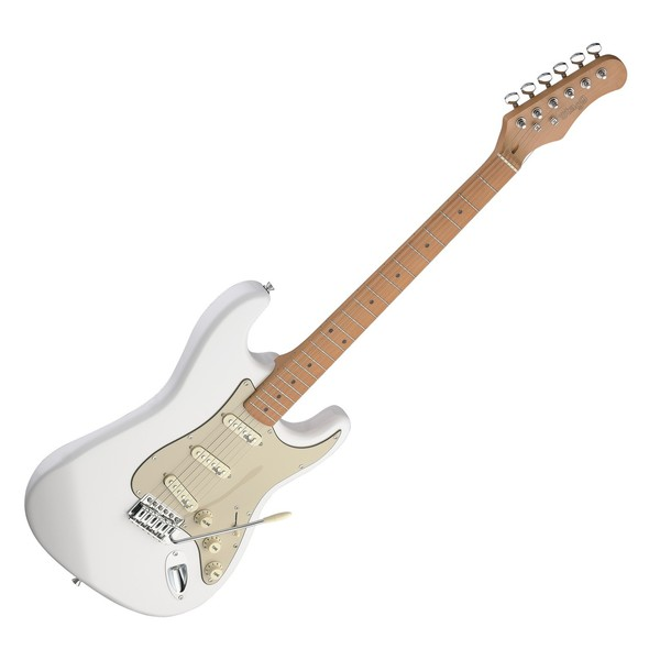 Stagg SES50M Slowhand Vintage Electric Guitar, White