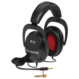 Direct Sound EX25 Isolation Headphones - Angled