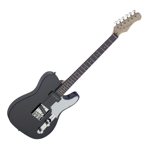 Stagg Vintage T Custom Electric Guitar, Black