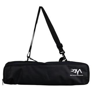 RISA Black Uke-Solid Soprano Padded Bag