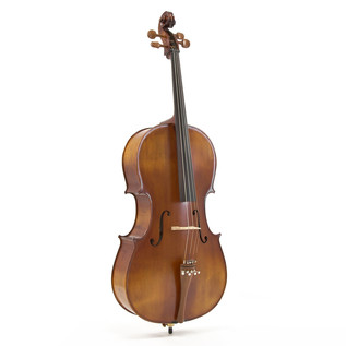 Deluxe 4/4 Cello with Case, Antique Fade, by Gear4music