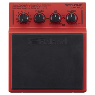 Roland SPD:ONE WAV Trigger Pad - Top