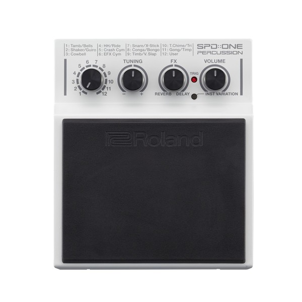 Roland SPD:ONE PERCUSSION Trigger Pad - Top