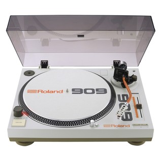 Roland TT-99 Direct Drive Turntable - Cover Open
