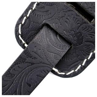 Richter 1486 Raw II Contour Croc Natur Guitar Strap 5