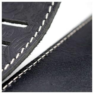 Richter 1486 Raw II Contour Croc Natur Guitar Strap 6