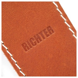 Richter 1512 Raw II Contour Torro Tan Guitar Strap 2