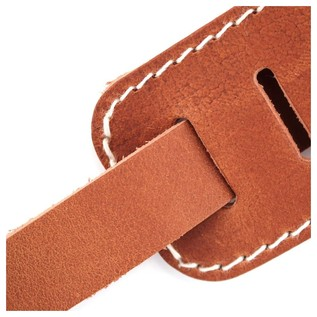 Richter 1512 Raw II Contour Torro Tan Guitar Strap 4