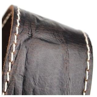 Richter 1514 Raw II Contour Wrinkle Pine Guitar Strap 2