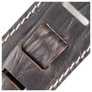 Richter 1514 Raw II Contour Wrinkle Pine Guitar Strap 4