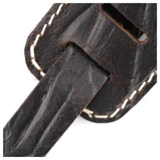 Richter 1514 Raw II Contour Wrinkle Pine Guitar Strap 5