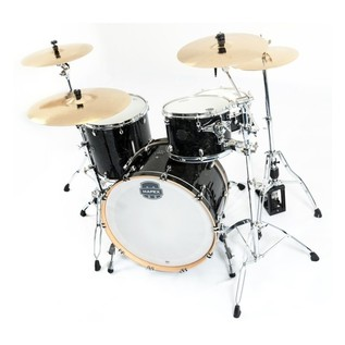 Mapex Saturn V Tour Edition Shell Pack, Black Pearl