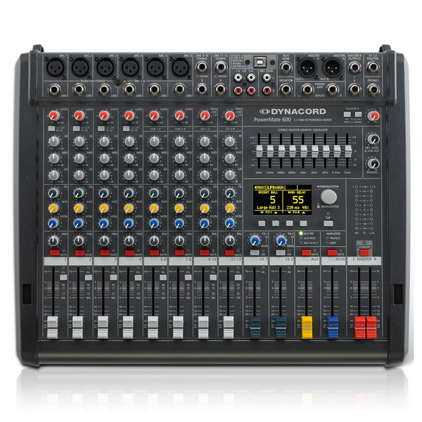 Dynacord PowerMate 600-3 8-Channel Powered Mixer
