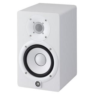 Yamaha HS5W Full-Range Studio Monitor, White 2