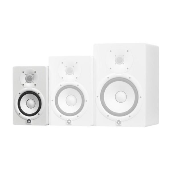 Yamaha HS5W Full-Range Studio Monitor, White 4