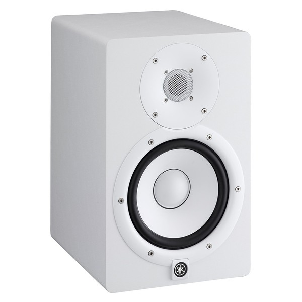 Yamaha HS7W Full-Range Studio Monitor, White 3
