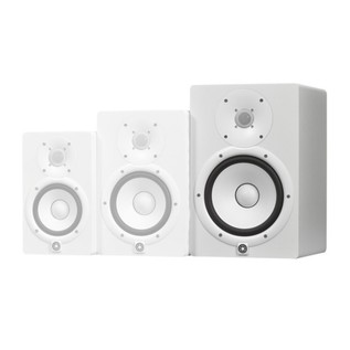 Yamaha HS8W Full-Range Studio Monitor, White 5