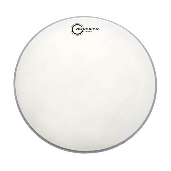 Aquarian Focus-X Texture Coated 10'' Drum Head, White