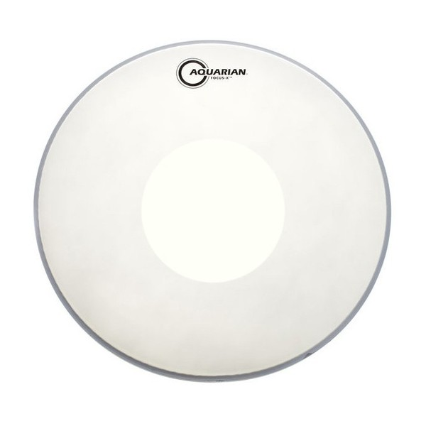 Aquarian Focus-X Texture Coated 14'' Drum Head, w/ Power Dot