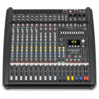 Dynacord CMS 1000-3 10-Channel Mixer