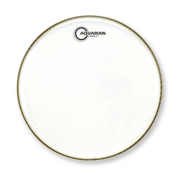 Aquarian Super-2 Clear Two Ply 12'' Drum Head