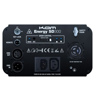 KAM Energy SD300 Laser, Rear