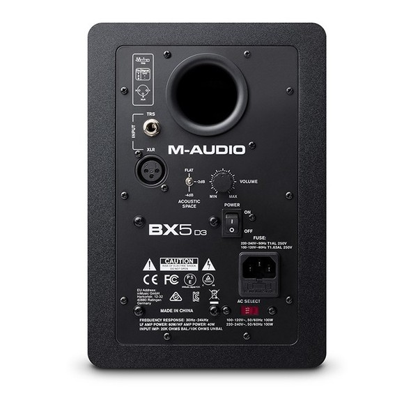 M-Audio BX5 D3 Studio Monitors 3