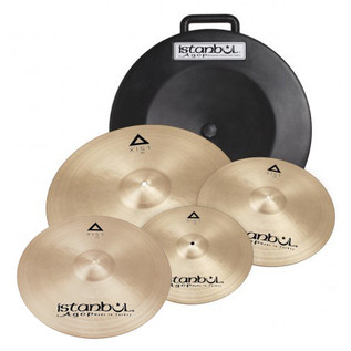 Istanbul Agop Xist Cymbal Set with FREE 18'' Crash and Hardcase