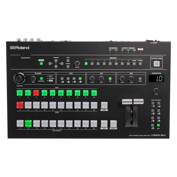 Roland V-800 HD MK II Multi-Format Video Switcher 1