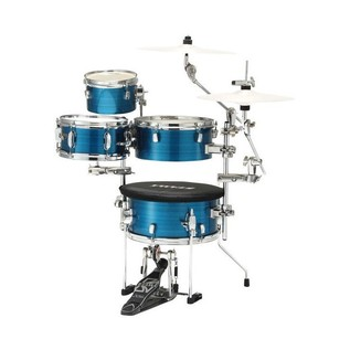 Tama Cocktail Jam Mini Kit with Hardware & Bags, Hairline Blue