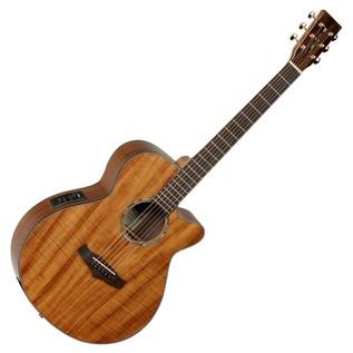 Tanglewood TSFCEXKOA Evolution Super Folk Electro Acoustic Guitar