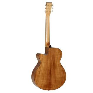 Tanglewood TSFCEXKOA Evolution Super Folk Electro Acoustic Guitar back