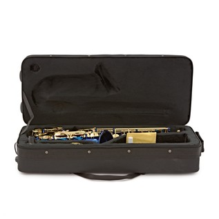 Elkhart 100AS Student Alto Saxophone, Blue