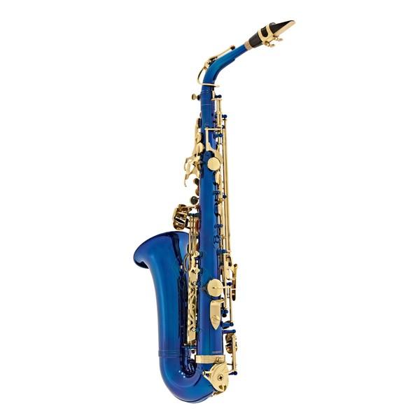 Elkhart 100AS Student Alto Saxophone, Blue
