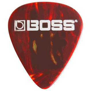 Boss Celluloid Pick Medium, Shell