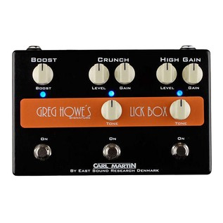 Carl Martin Greg How Signature Lick Box Overdrive Pedal 1