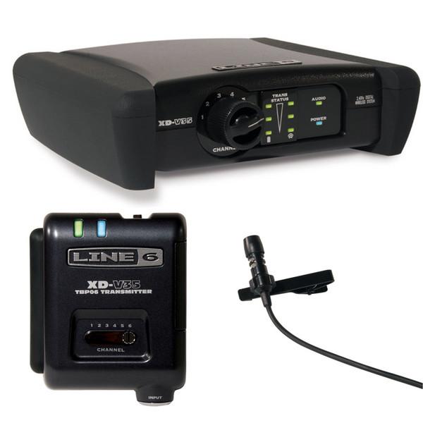 Line 6 XD-V35 Digital Wireless Lavelier Mic System