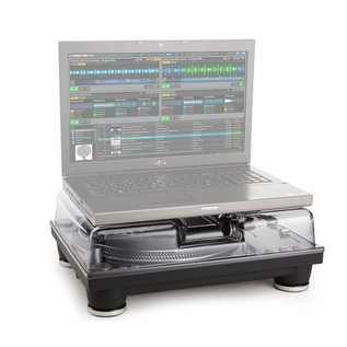 Decksaver Denon VL12 Prime and Stanton ST.150 Cover (Laptop Not Included)