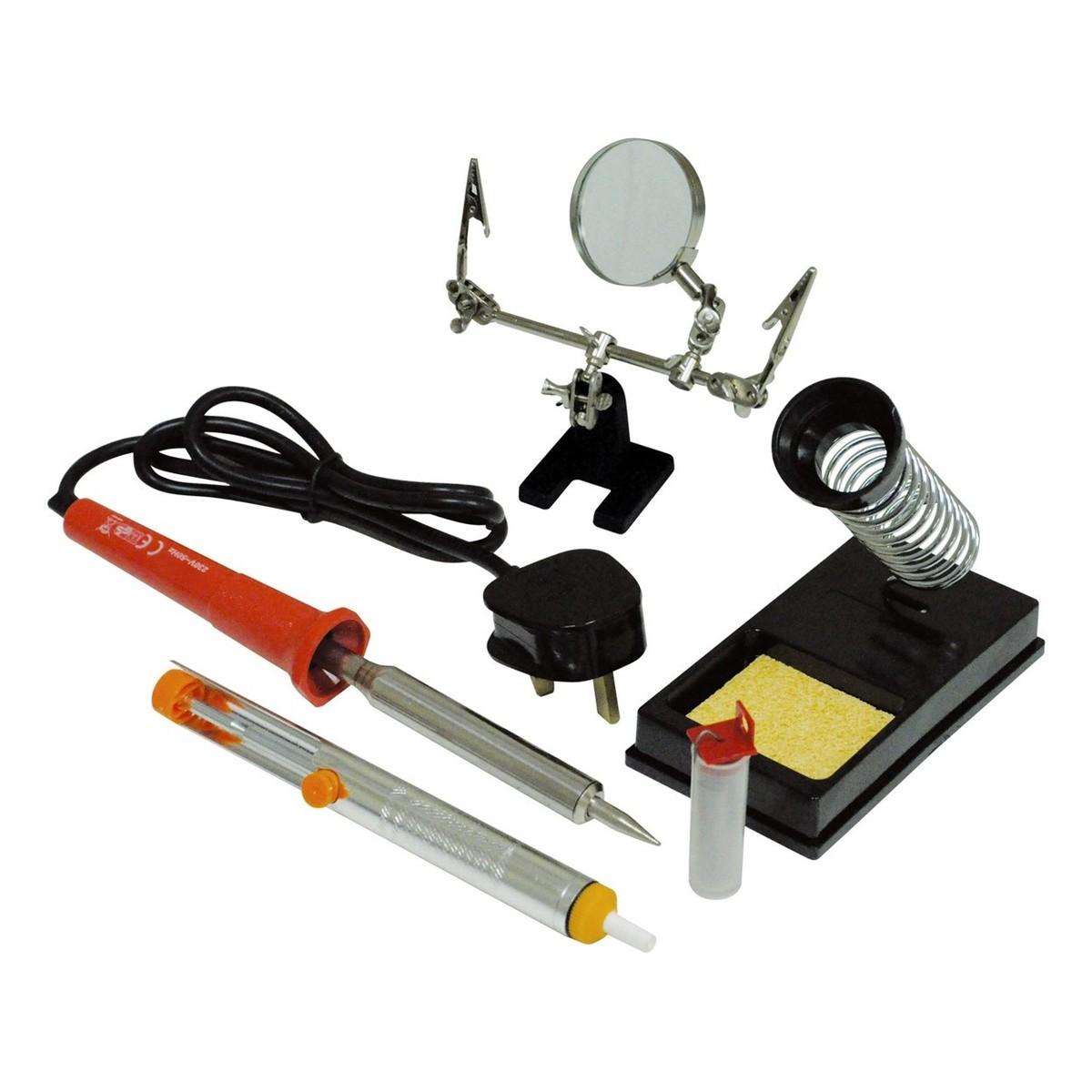 eagle 30w high quality mains powered soldering iron kit at. Black Bedroom Furniture Sets. Home Design Ideas