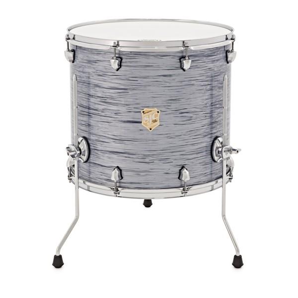SJC Drums Providence 18 x 16 Floor Tom, Silver Ripple