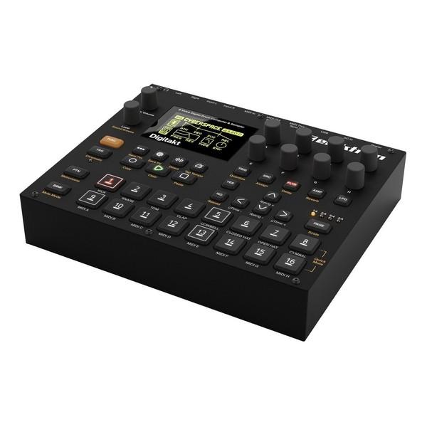 Elektron Digitakt Drum Computer and Sampler - Angled