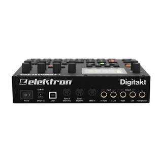 Elektron Digitakt Drum Computer and Sampler - Rear
