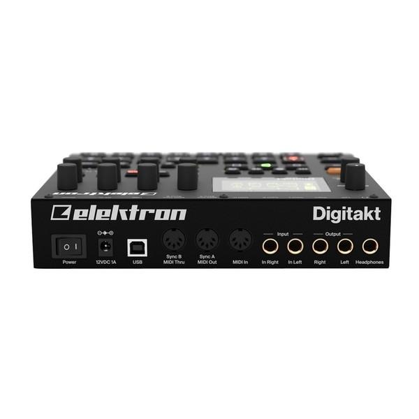 Elektron Digitakt Drum Computer and Sampler - Rear