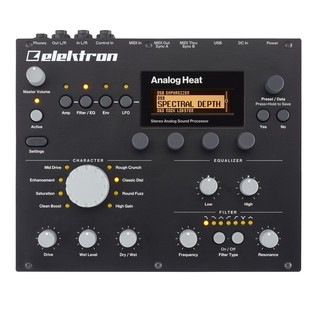 Elektron Analog Heat Sound Processor - Top