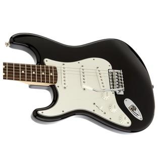 Fender Standard Stratocaster Left Handed, Black