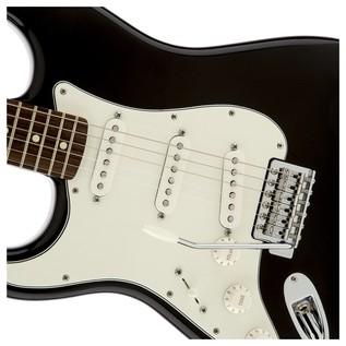 Fender Standard Stratocaster Guitar, Black